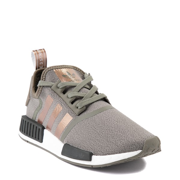 alternate view Womens adidas NMD R1 Athletic Shoe - Legacy Green / CopperALT5