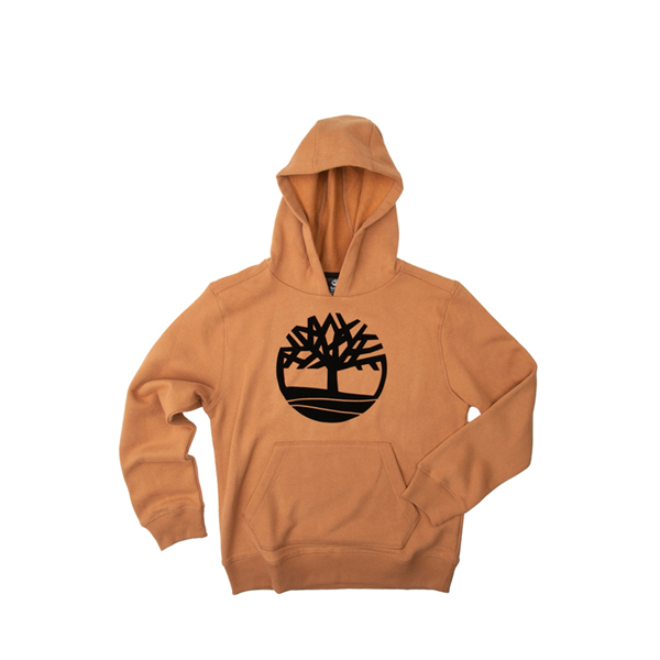 Main view of Timberland Tree Logo Hoodie - Little Kid / Big Kid - Wheat