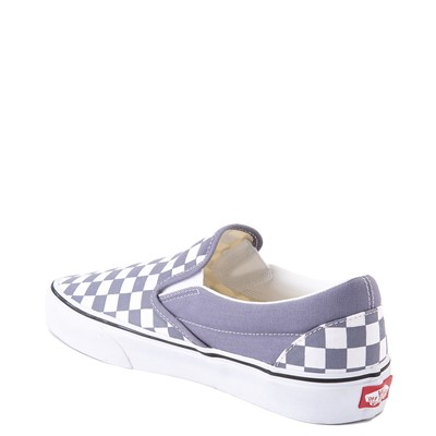 Alternate view of Vans Slip On Checkerboard Skate Shoe - Blue Granite