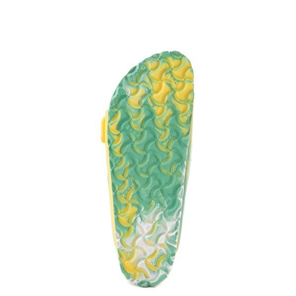 alternate view Womens Birkenstock Arizona EVA Sandal - Marbled Jade / YellowALT3