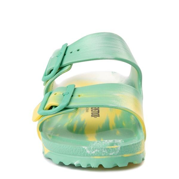 alternate view Womens Birkenstock Arizona EVA Sandal - Marbled Jade / YellowALT4