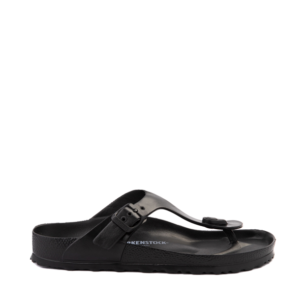 Main view of Womens Birkenstock Gizeh EVA Sandal - Black