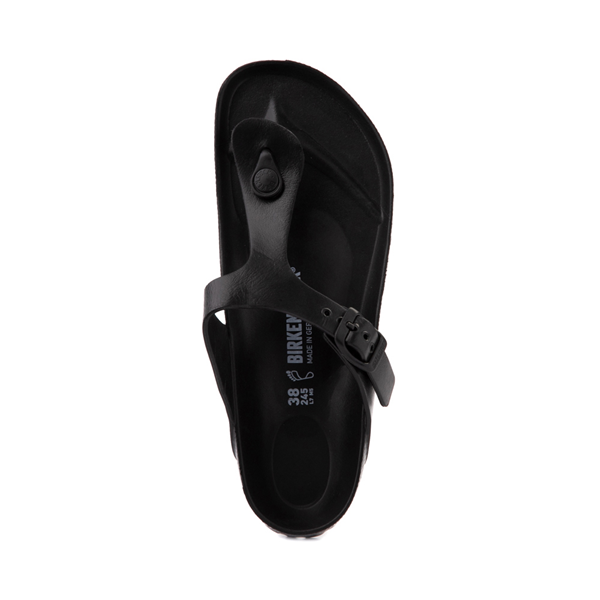 alternate view Womens Birkenstock Gizeh EVA Sandal - BlackALT2