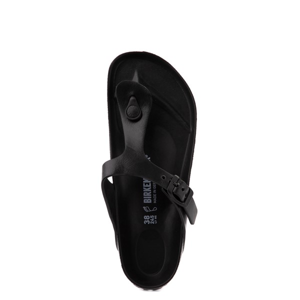 alternate view Womens Birkenstock Gizeh EVA Sandal - BlackALT4B