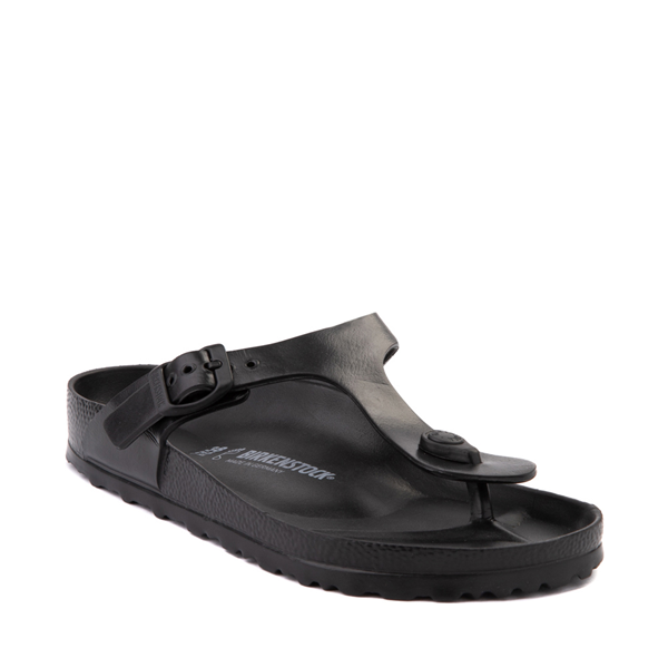 alternate view Womens Birkenstock Gizeh EVA Sandal - BlackALT5