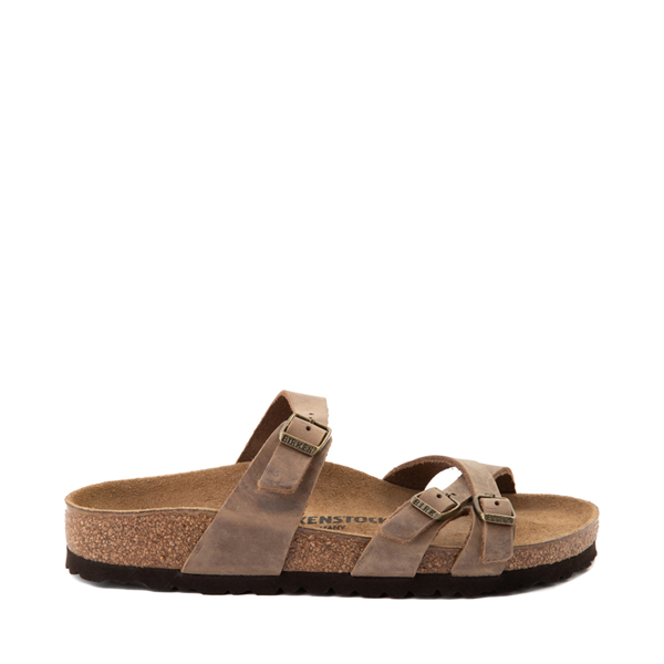 Main view of Womens Birkenstock Franca Sandal - Brown