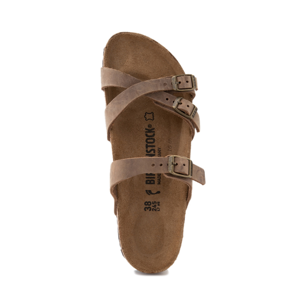 alternate view Womens Birkenstock Franca Sandal - BrownALT2