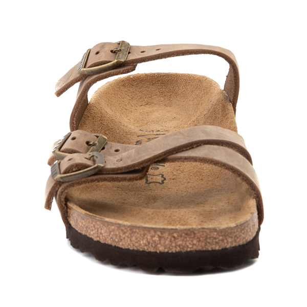 alternate view Womens Birkenstock Franca Sandal - BrownALT4