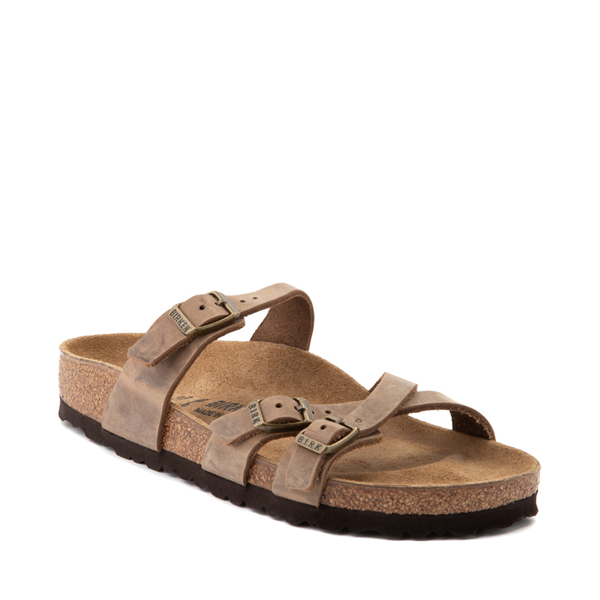 alternate view Womens Birkenstock Franca Sandal - BrownALT5
