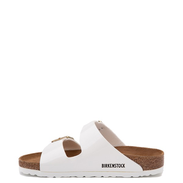 alternate view Womens Birkenstock Patent Arizona Sandal - WhiteALT1