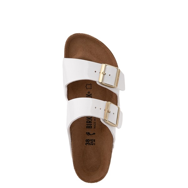 alternate view Womens Birkenstock Patent Arizona Sandal - WhiteALT2