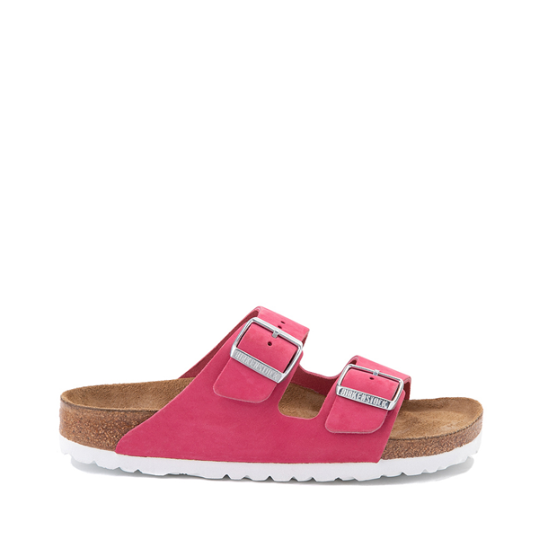 Main view of Womens Birkenstock Arizona Soft Footbed Sandal - Fuschia