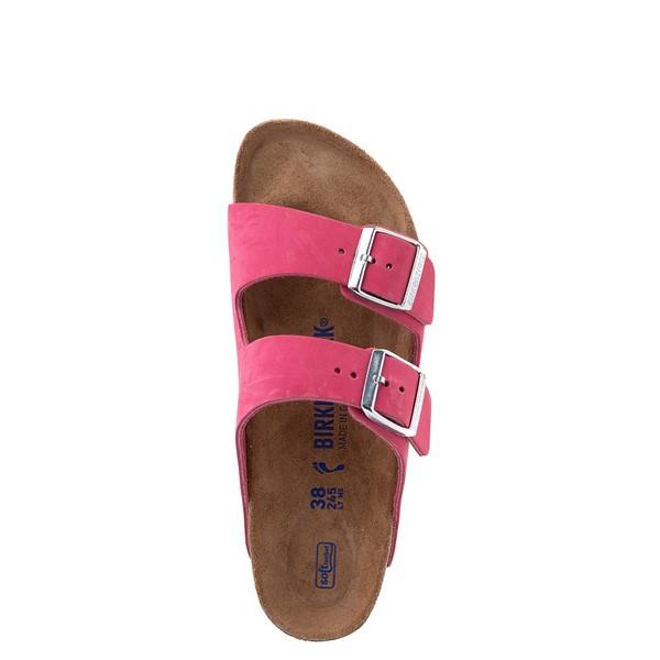 alternate view Womens Birkenstock Arizona Soft Footbed Sandal - FuschiaALT4B