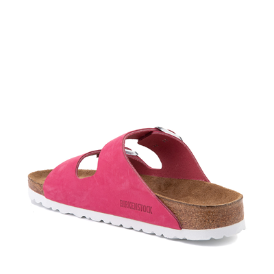 Alternate view of Womens Birkenstock Arizona Soft Footbed Sandal - Fuschia