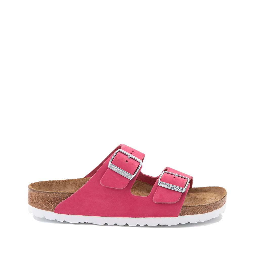 Womens Birkenstock Arizona Soft Footbed Sandal - Fuschia