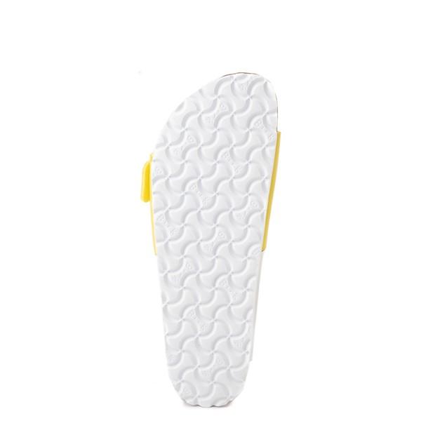 alternate view Womens Birkenstock Arizona Split Sandal - White / Lime SourALT3