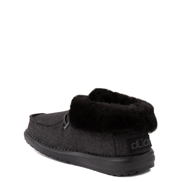 alternate view Hey Dude Britt Casual Shoe - Little Kid / Big Kid - BlackALT1B