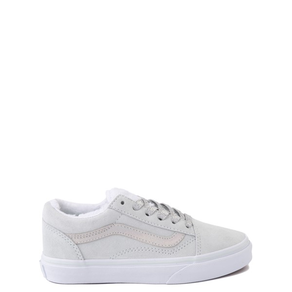Main view of Vans Old Skool Sherpa Skate Shoe - Little Kid - Billowing Sail