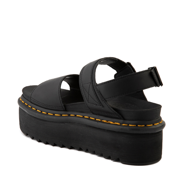 alternate view Womens Dr. Martens Voss Platform Sandal - BlackALT1