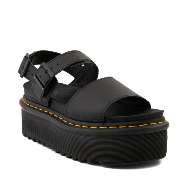 alternate view Womens Dr. Martens Voss Platform Sandal - BlackALT5