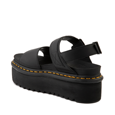 Alternate view of Womens Dr. Martens Voss Platform Sandal - Black