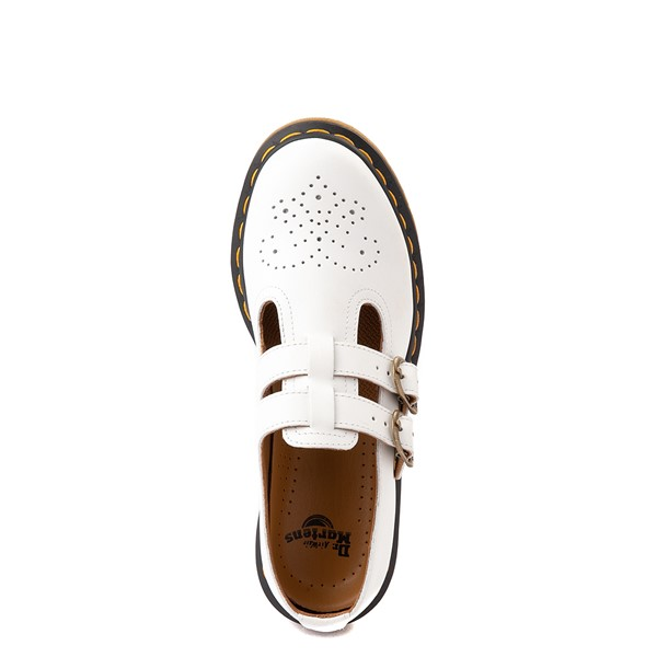 alternate view Womens Dr. Martens Mary Jane Casual Shoe - WhiteALT4B