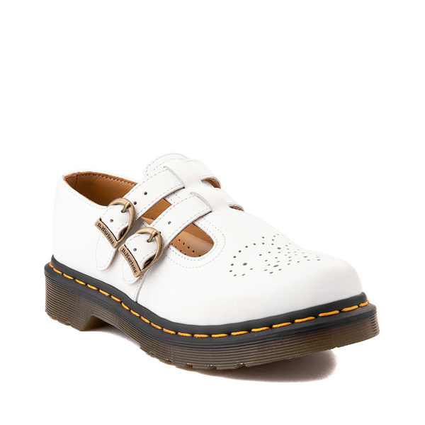 alternate view Womens Dr. Martens Mary Jane Casual Shoe - WhiteALT5