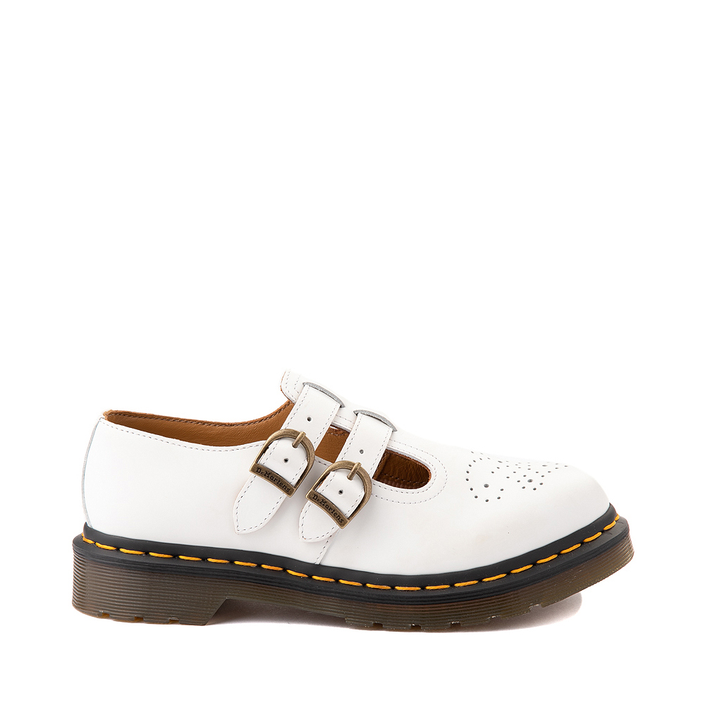 Womens Dr. Martens Mary Jane Casual Shoe - White