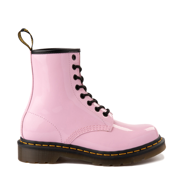 Womens Dr. Martens 1460 8-Eye Patent Boot - Pale Pink