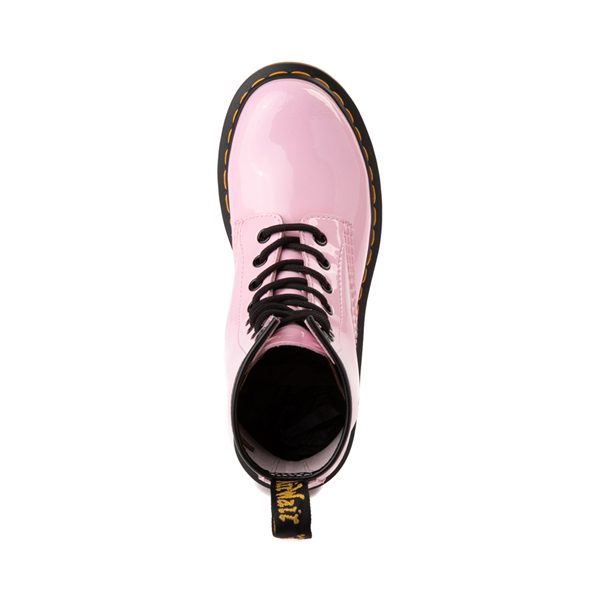 alternate view Womens Dr. Martens 1460 8-Eye Patent Boot - Pale PinkALT2