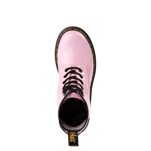 alternate view Womens Dr. Martens 1460 8-Eye Patent Boot - Pale PinkALT4B