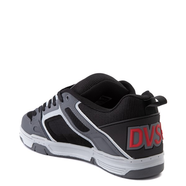 alternate view Mens DVS Comanche Skate Shoe - Black / CharcoalALT2
