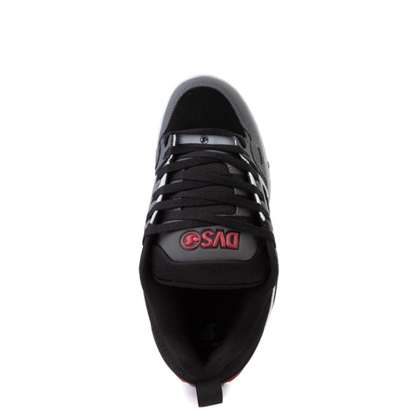 alternate view Mens DVS Comanche Skate Shoe - Black / CharcoalALT4B