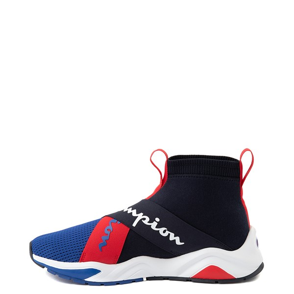 alternate view Mens Champion Rally Crossover Athletic Shoe - Navy / SurfALT1