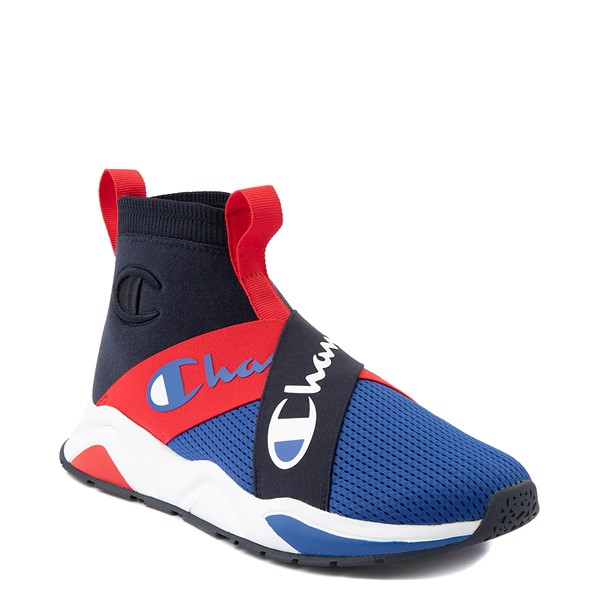 alternate view Mens Champion Rally Crossover Athletic Shoe - Navy / SurfALT5