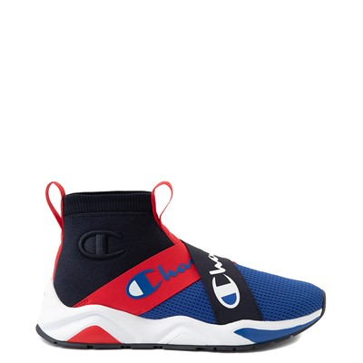 Main view of Mens Champion Rally Crossover Athletic Shoe - Navy / Surf