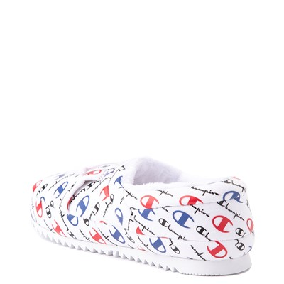 Alternate view of Womens Champion University Slipper - White