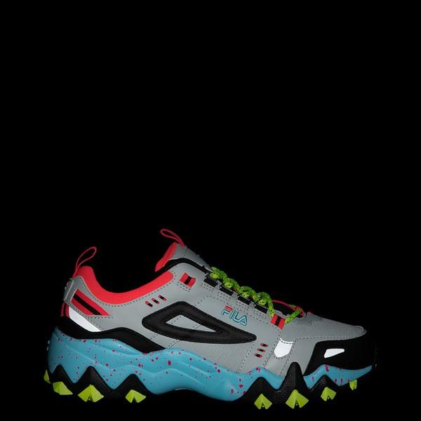 alternate view Womens Fila Oakmont TR Athletic Shoe - Silver Birch / Yellow / BlueALT1
