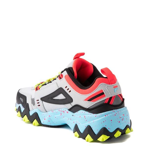 alternate view Womens Fila Oakmont TR Athletic Shoe - Silver Birch / Yellow / BlueALT1B