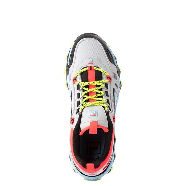 alternate view Womens Fila Oakmont TR Athletic Shoe - Silver Birch / Yellow / BlueALT2