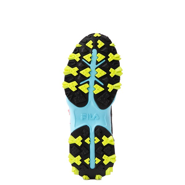 alternate view Womens Fila Oakmont TR Athletic Shoe - Silver Birch / Yellow / BlueALT3