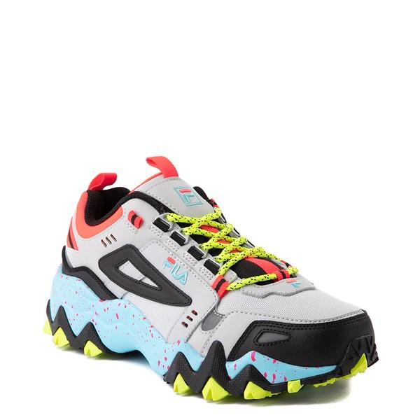 alternate view Womens Fila Oakmont TR Athletic Shoe - Silver Birch / Yellow / BlueALT5