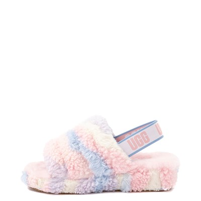 Alternate view of UGG® Fluff Yeah Pride Slide Sandal - Pastel Multicolor