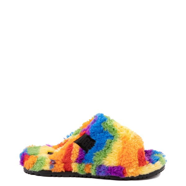 Main view of UGG® Fluff You Slide Sandal - Rainbow