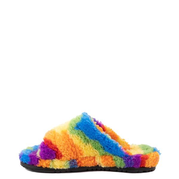 alternate view UGG® Fluff You Pride Slide Sandal - RainbowALT1
