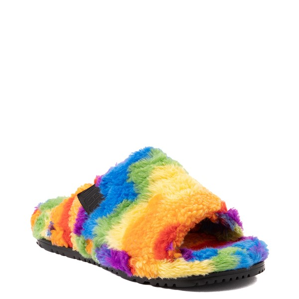 alternate view UGG® Fluff You Pride Slide Sandal - RainbowALT5