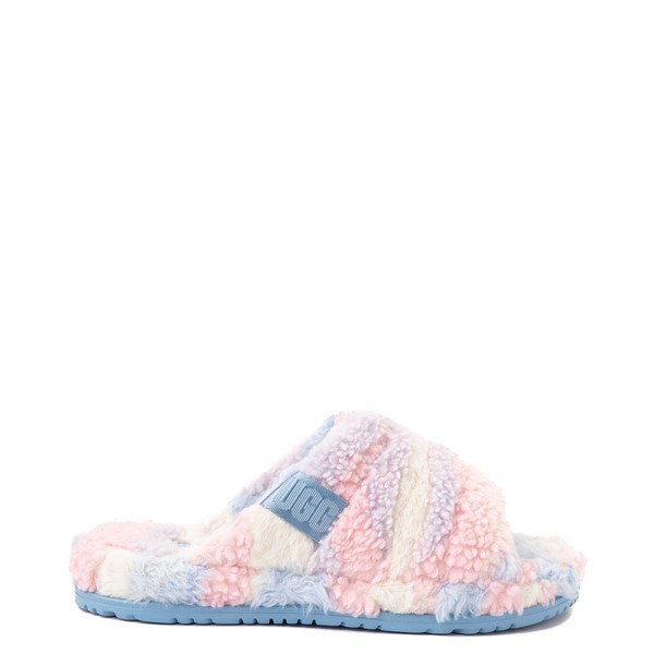 Main view of UGG® Fluff You Slide Sandal - Pastel Multicolor