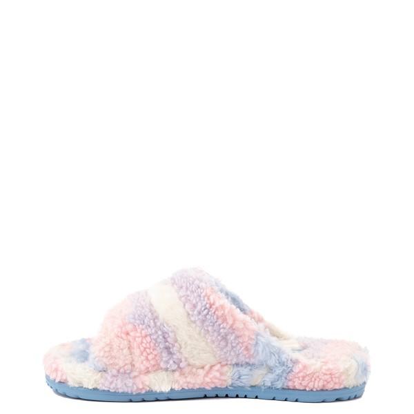 alternate view UGG® Fluff You Pride Slide Sandal - Pastel MulticolorALT1
