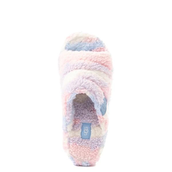 alternate view UGG® Fluff You Pride Slide Sandal - Pastel MulticolorALT2