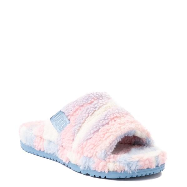 alternate view UGG® Fluff You Pride Slide Sandal - Pastel MulticolorALT5